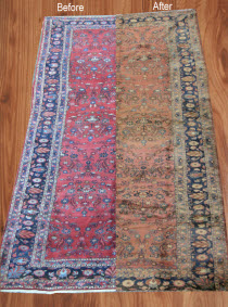 Cleaning Wool Blends Antique Area Rug Long Branch