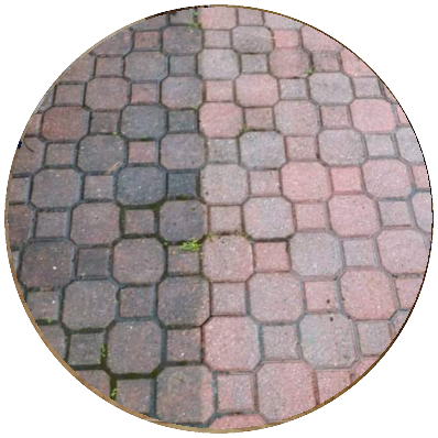 Color Pavers Cleaning