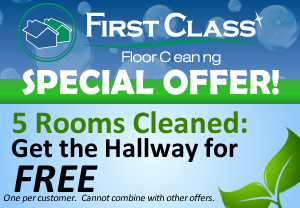 5 Rooms Cleaned – FREE Hallway Coupon