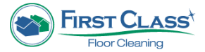 First Class Floor Cleaning Logo
